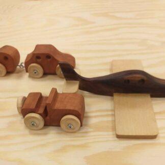 Träleksaker, olika modeller