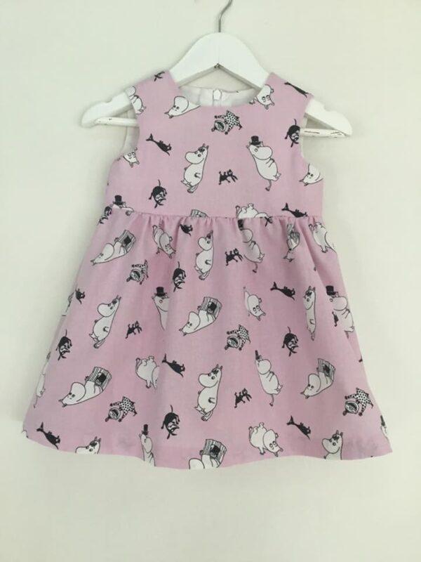 Babyklänning Unik-Ljuslila 68 cm