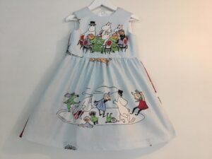 Babyklänning Unik-Oväder, 92 cm