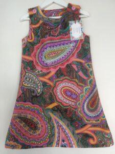 Klänning Meckko-Paisley, 110 cm