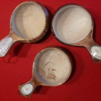 Träkåsor med renhorn
