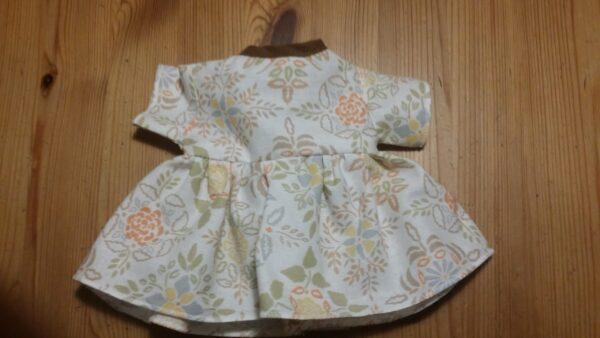 Dockklänning Blomma-brun